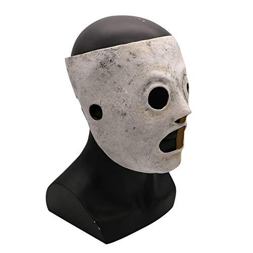 waysad Maske Horror Mask Theme Halloween Schädel Band Maske für Halloween, Partys, Bars, spezielle Produkte für Partys etc. Improvement (Improvement Home Halloween-party)
