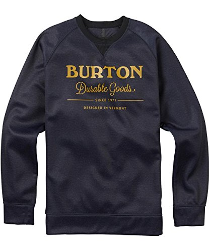 Burton Herren Sweatshirt MB Bonded Crew mood indigo heather
