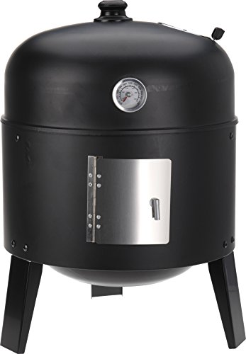 Smoker BBQ Grill Charcoal Barbecue Smokehouse For Smoking With Thermostat For Garden Camping & Picnics