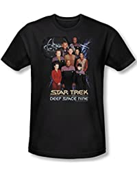 Star Trek - Mens Ds9 Crew T-Shirt In Black