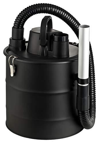 KINZO Aschesauger 18 Liter Fassungsvermögen | Kaminsauger mit HEPA Filter | 3 Meter Kabellänge | ideal für die Reinigung von Grills, Kaminen, Feuerschalen | 800 W Leistung