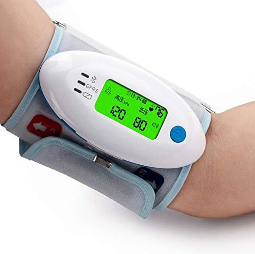 Maple Leaf Oberarm-Blutdruckmessgerät, Großbild-LCD-Monitor Zur Messung des Blutdrucks Und Der Herzfrequenz Zu Hause, Weitbereichsmanschette, 2 Benutzerspeicher