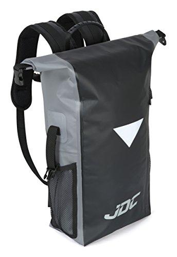 Imagen de jdc  para moto 100% impermeable bolsa resistente al agua 30l negra/gris alternativa