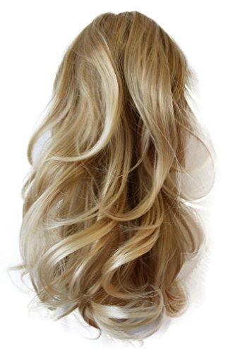Kostüm Zöpfe Blonde (PRETTYSHOP Voluminöses Haarteil Hair Piece Pferdeschwanz Zopf Ponytail ca 35cm diverse Farben (blond mix)