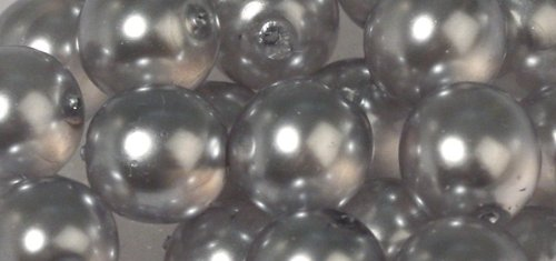 Rayher Hobby 14441561 - Renaissance Verre Perles de Cire, 6 mm, boîte 45 pièces,