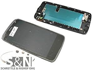 NG-Mobile Original HTC Desire 500 Displaymodul LCD Display Touchscreen + Rahmen, schwarz