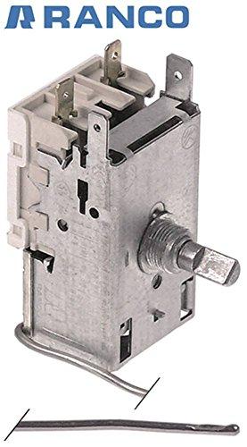 RANCO K50P6073/001 Thermostat für Liebherr FKS 5000-20E, Cookmax 625010 für Kühlgerät, Kühlschrank Kapillarrohrlänge 2000mm