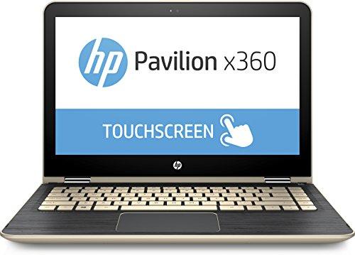 HP - Pavilion x360 2-in-1 13.3 Touch-Screen Laptop m3-u103dx - 7th Gen Intel Core i5-7200U - 8GB Memory - 128GB Solid State Drive - Gold
