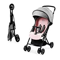 kk Kinderkraft Lite Up Pushchair Pram Stroller Bassinet