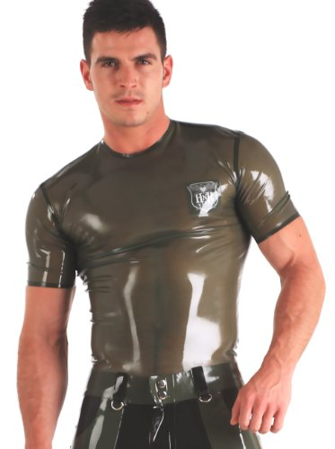 Militär-T-Shirt für Männer Grün EU44 ()