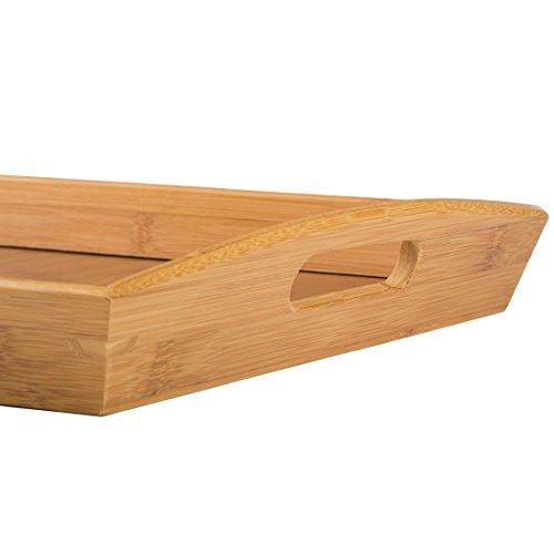 Levivo SET111539A - Bandeja de bambú, aprox. 44 x 29 cm - 3