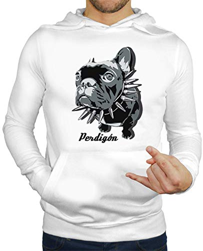 latostadora - Jersey Perdigon para Hombre Blanco M