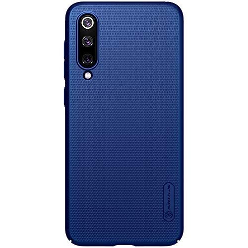 "XMTON Xiaomi Mi 9 SE 5.97"" Funda,Ultra Delgado Carcasa Duro PC Anti-Rasguños Protectora Caso Case Cover + 1 Pack Kickstand para Xiaomi Mi 9 SE Smartphone (Azul)"
