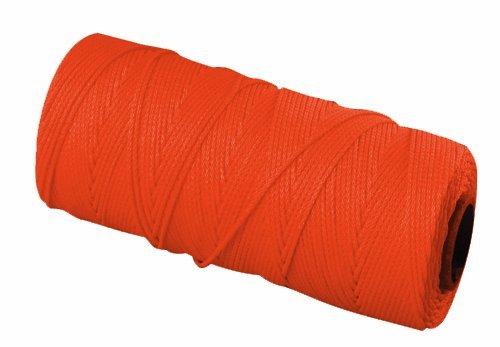 Bon 11-879 18 No.250-Feet EZC Bricklayers Braided Nylon Line, Neon Orange by BON