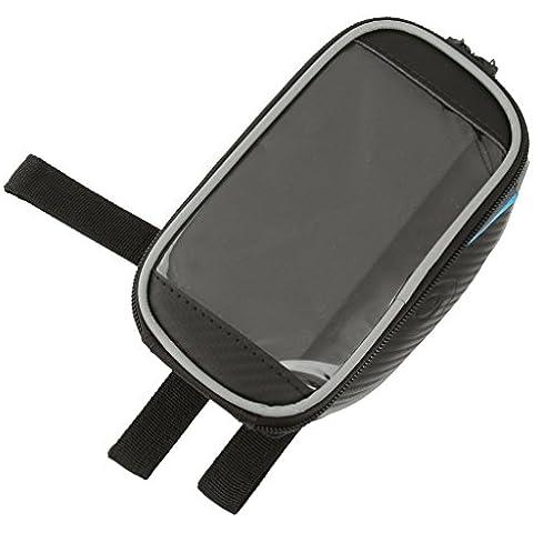 Paquete De Bastidor Delantero Pannier Tubo De Pantalla Táctil Bolsa Para Guardar Bicicletas Ciclismo 5,5