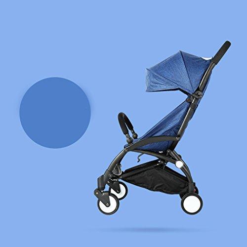 &Kinderwagen Kinderwagen ultraleichter Kinderwagen Buggy sitzt oder auf dem Flugzeug Klapp tragbaren Regenschirm ruht (Farbe : 2#)