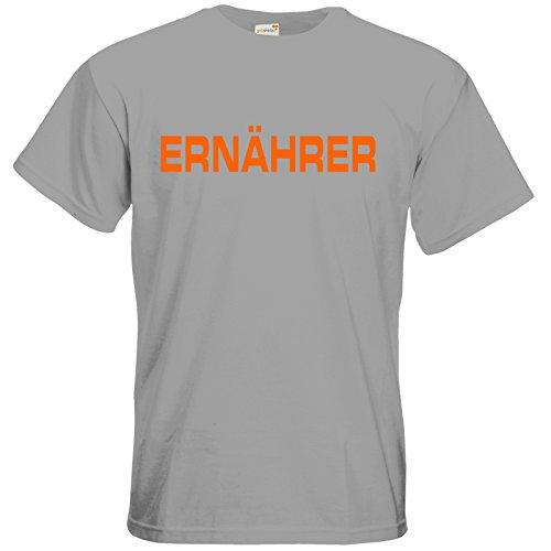 getshirts - RAHMENLOS® Geschenke - T-Shirt - Ernaehrer pacific grey
