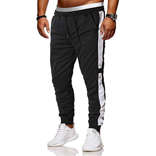 Pantalones Deportivos Hombre SUNNSEAN Sólido Apretados