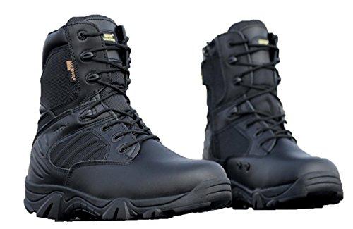 WZG I nuovi fan Army Boots alta cima stivali da combattimento deserto all'aperto stivali maschili militari statunitensi delle forze speciali stivali tattici stivali Marine campo , sand color , 43