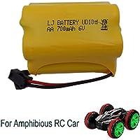 FSTgo 6V 700mAh Ni-CD Paquetes de baterías recargables para Amphibious Stunt Car