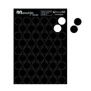 Manutips Flexible Magneten für Fotos und Bastelarbeiten, rund, 30 mm Durchmesser, (50Stück)