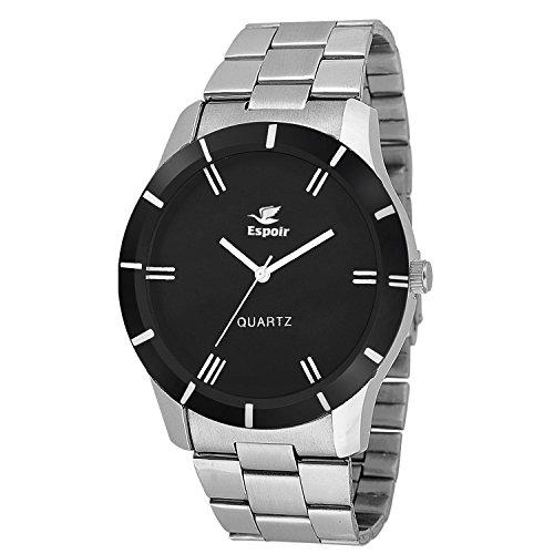 Espoir Round Analog Black Dial Men's & Boy's Watch – ESP2365