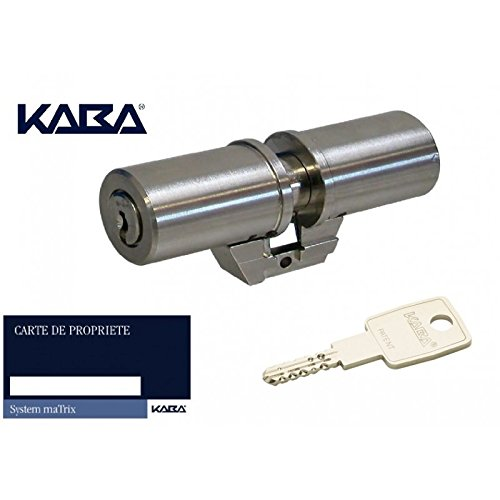 Cylindre monobloc KABA Expert-T adaptation FICHET Forge