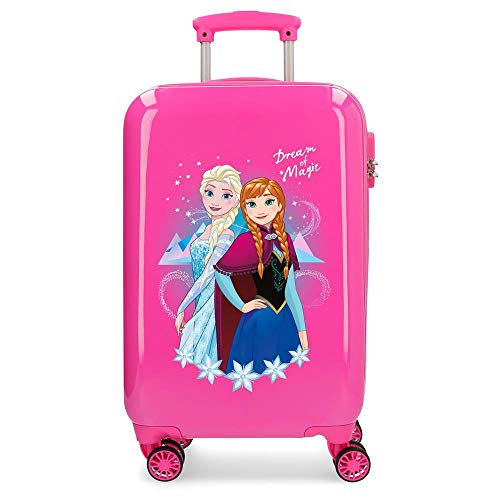 Disney Dream Of Magic Valigia per Bambini 55 centimeters, 32 Litri, Multicolore (Rosa)
