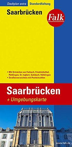 falk-stadtplan-extra-standardfaltung-saarbrucken-mit-ortsteilen-von-forbach-friedrichsthal-puttlinge