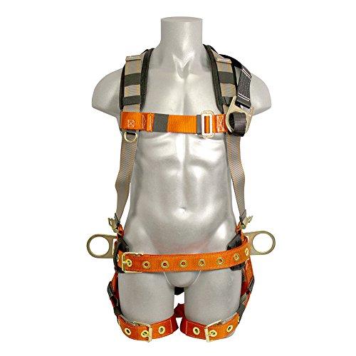 Madaco Dachbau Fallschutz Heavy Duty Full Body Industrial Safety Harness Größe M-XXL ANSI OSHA H-TB205K