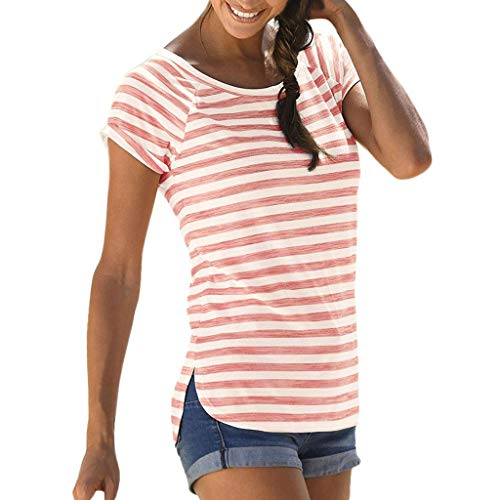 Kostüm Punk Rocker Frau - Damen T Shirt, CixNy Bluse Damen Kurzarm Sommer Art Und Weise Lose Hülse Stern Gedruckt Beiläufig Oberteil Tops