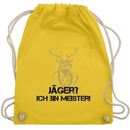 Après Ski - Jäger? Ich bin Meister! - Unisize - Gelb - WM110 - Turnbeutel & Gym ()