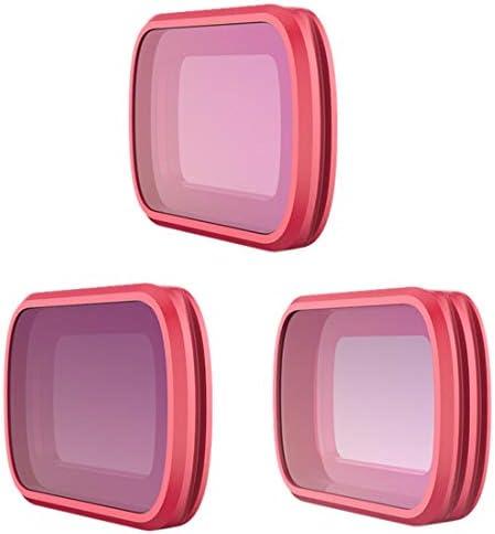 LoKauf PGYTECH 3 Pièces Filtre Kit pour pour pour DJI OSMO Pocket - CPL ND8 ND16 Filter (Professionnel) | De Qualité Constante  60f354