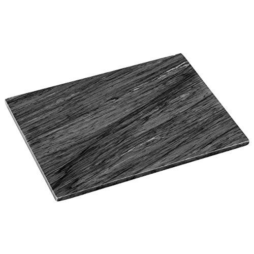 Get Waren Schneidebrett, schwarz Gesprenkelter Granit, H2X W40x 30cm - Schwarzer Granit Schneidebrett