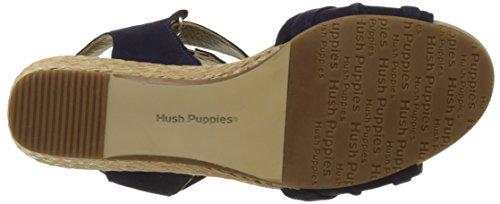 Hush Puppies Eivee, Sandali Punta Aperta Donna Blu (Bleu Roi)
