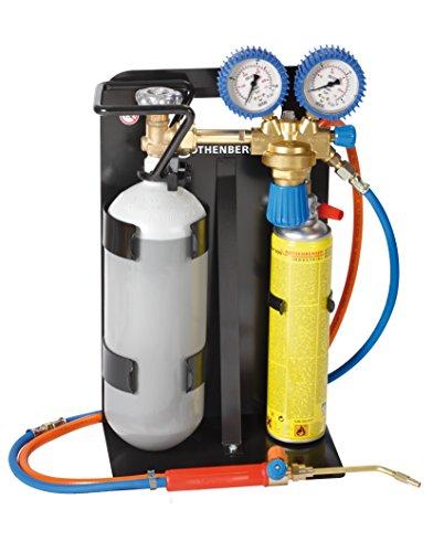 Rothenberger Industrial - Roxy 400 L - Autogenschweißgerät / Hartlötgerät - inklusive Gas & Sauerstoffbehälter