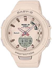 Casio Analog-Digital Beige Dial Women's Watch-BSA-B100-4A1DR (BX147)