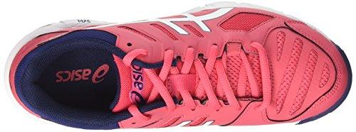 Asics Gel-Beyond 5, Scarpe Sportive Indoor Donna Rosso (Rouge Red/white/indigo Blue 1901)