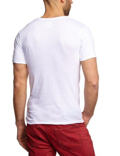 Eleven Paris Herren T-Shirt MARILYN M Weiß (M99 WHITE)