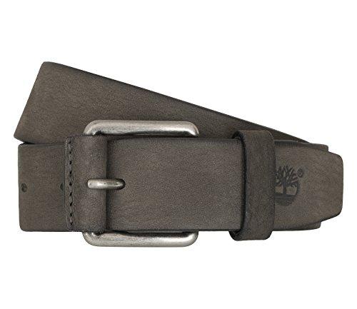 Timberland Gürtel Herrengürtel Ledergürtel Jeans Grau 6765, Farbe:Grau, Größe:XL (Timberland Gürtel Aus Leder Für Männer)