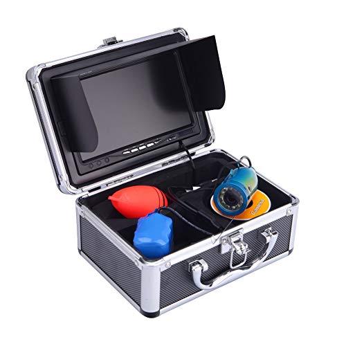 YMXLJJ 7-Zoll-Dual-Kamera-Fisch Finder 15M Unterwasserfischerei Kamera-Monitor Für IOS Und Android-Geräte Geeignet