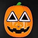 Karikatur-Anime-Tanz-Leistung Requisiten Halloweens Reprops Kürbis Mask,A-OneSize