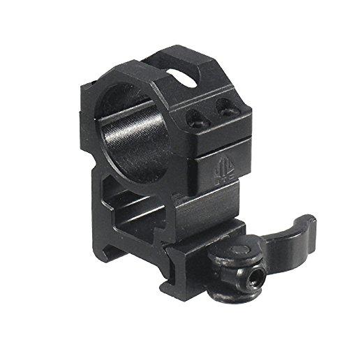 - Schienen-montage (UTG Erwachsene Für Für Optiken Befestigungsschellen, schwarz, One Size)