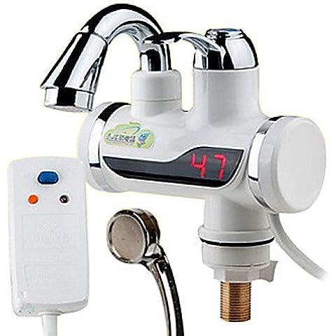 scaldacqua elettrici digitali classici del rubinetto calda e fredda a