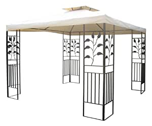 gartenpavillon 3x3m pavillon toscana pavillion. Black Bedroom Furniture Sets. Home Design Ideas
