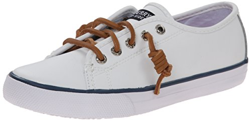 Sperry Top Sider Seacoast Mädchen US 13.5 Weiß Slipper UK 13 EU 32 (Sperry Top Sider Seacoast)