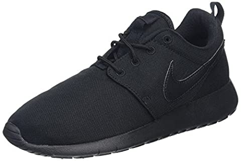 Nike Unisex-Kinder Roshe One (Gs) Shoe Sneakers, Schwarz (Black/Black), 38.5