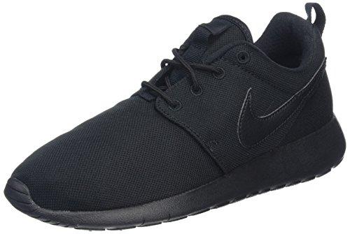 Nike Unisex-Kinder Roshe One (GS) Shoe Sneakers, Schwarz (Black/Black), 38.5 EU (Schuhe Run Roshe Nike Kinder)