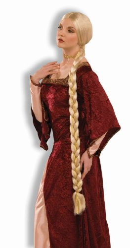 Fancy Dress Warehouse, PE160, blonde Princess Wig Fancy Dress (Ghost Pirate Kostüm)