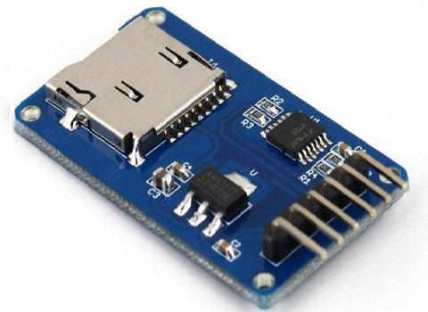 Her Micro SD Tarjeta Lector Card Reader Arduino TF Mini Raspberry